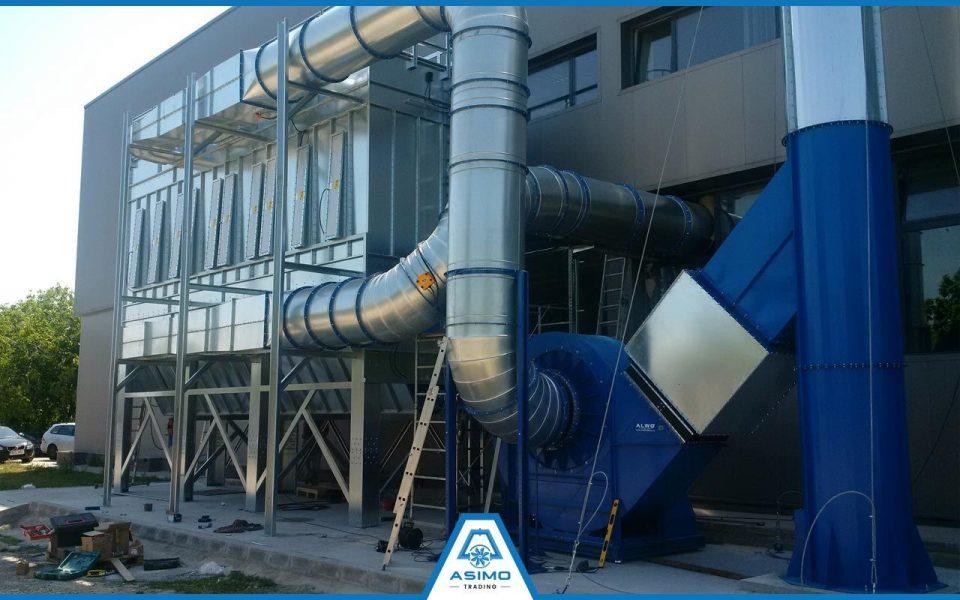 Exhaustare Industria Lemnului - Ventilatie si filtrare a aerului