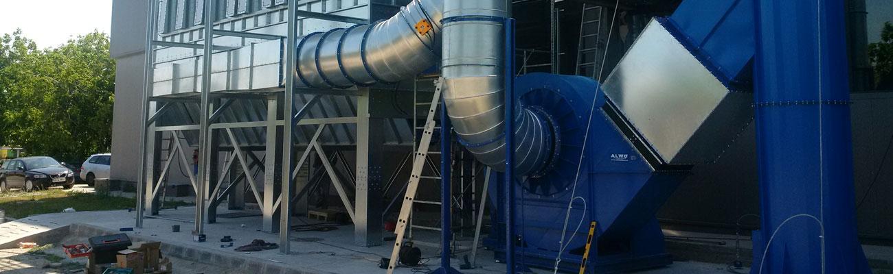 Statie de filtrare a aerului